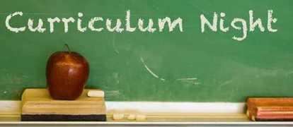 Curriculum Night / Open House