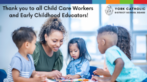 October 21st is Child Care Worker and Early Childhood Educator Appreciation Day!